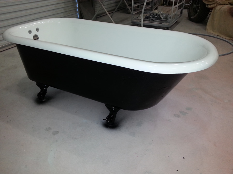 clawfoot tub refinishing fiberglass specialties. Black Bedroom Furniture Sets. Home Design Ideas